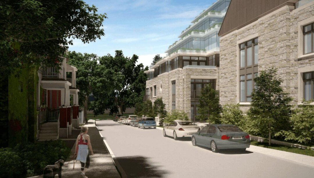 Stone Abbey: Luxury Condos and Towns in a Historic Setting